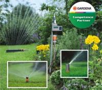 Nově v nabídce: automatické závlahy Gardena